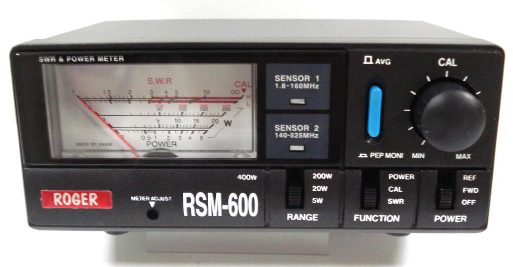 RSM600, измеритель мощности и КСВ (SWR) .