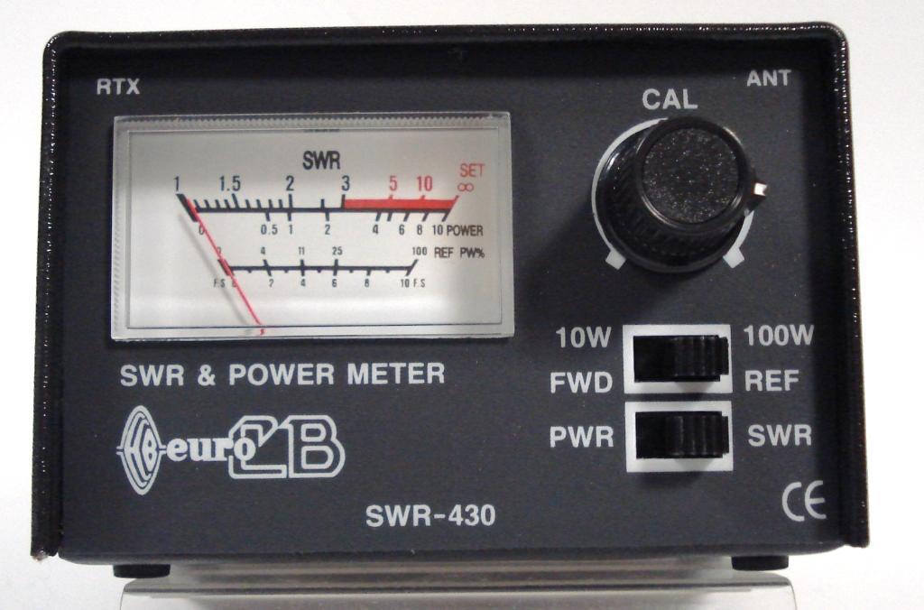 КСВ метр SWR-430 - РадиоМаг.