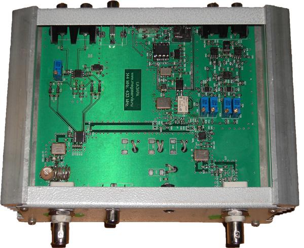 Диапазон рабочих частот: 144-146 МГц(полоса принимаемых частот определена типом применяемого ПАВ фильтра.