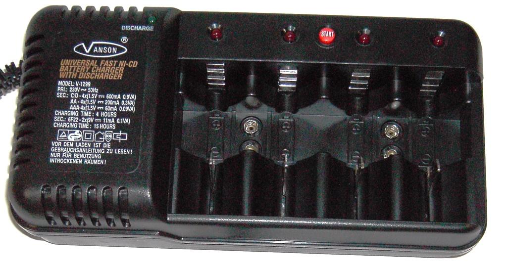 Зарядное устройство Vanson V-